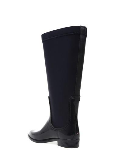 Tommy Hilfiger Yağmur Çizmesi Mavi